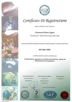 certificato9001